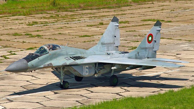 МиГ-29 Болгария