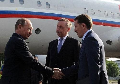 Путин в Воронеже
