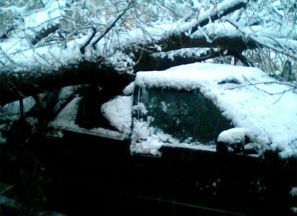 Снег Воронеж