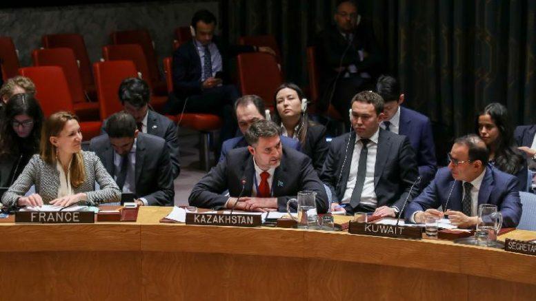 Казахстан ООН