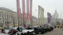 выставка битых авто