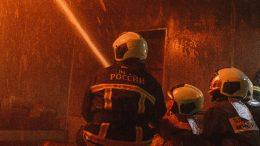 возгорание в Воронеже